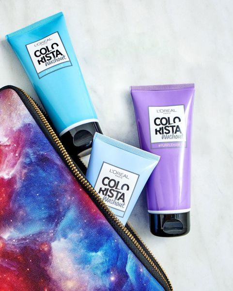 Временная краска для волос: смывающаяся водой детская, временная смываемая для детей, как сделать окрашивание на 1 день в домашних условиях