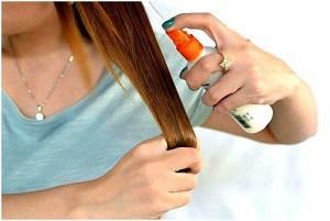 Спрей для волос термозащита и другие 24 вида спреев-лосьонов: питательные, увлажняющие, воск, от секущихся концов, восстанавливающие, протеиновые