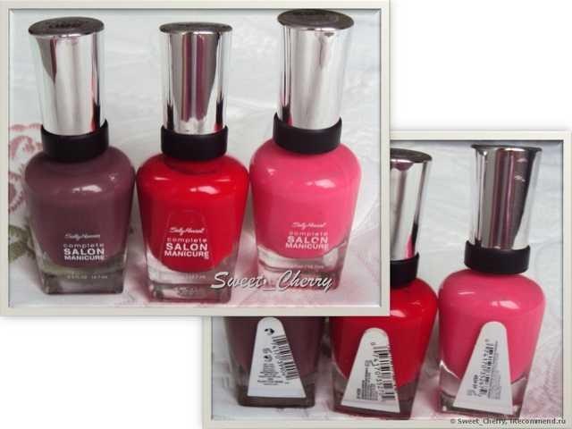 sally hansen (Салли Хансен): отзывы о лаке для ногтей, каталог косметики complete salon manicure, xtreme wear