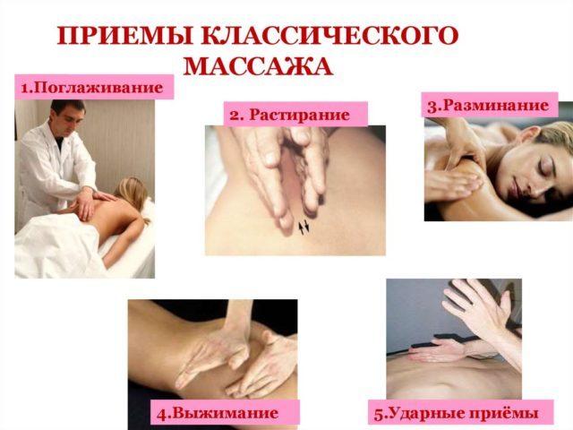 Массаж спины: техника выполнения классического, приемы массажных движений, уроки общего в домашних условиях, схема расслабляющего