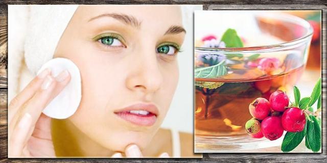 Косметическое средство Боярышник: хлебный косметический лосьон