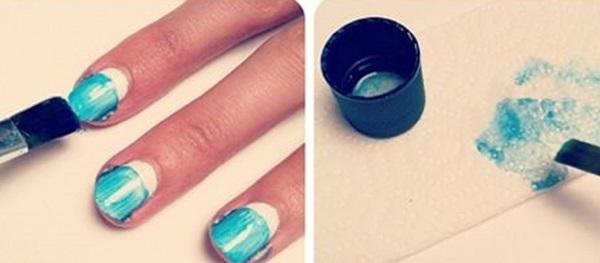 Как сделать омбре на ногтях гель-лаком: что такое, делать с переходом цвета, техника видов растяжки с блестками, градиент на коротких