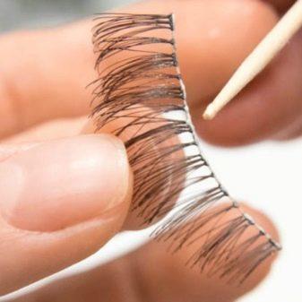 Как клеить накладные ресницы: приклеить самой себе, наклеить в домашних условиях, какой лучше клей, чем можно заменить клей