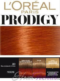 Лореаль Продиджи: палитра цветов красок для волос loreal prodigy, отзывы