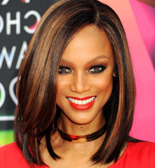 Колорирование на темные волосы: на черные средней длины, короткие с эффектом колорирования, краска для каштановых и русых длинных