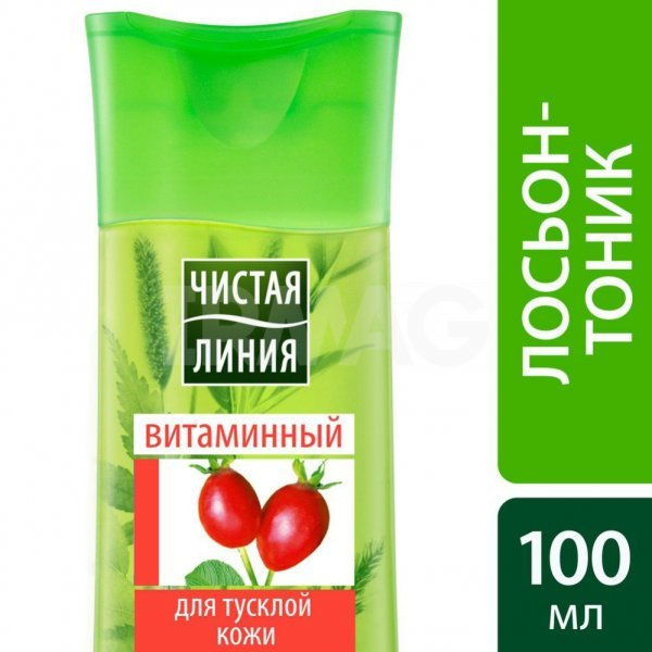 6 тоников Чистая Линия: отзывы о лосьоне для лица Василек, Идеальная Кожа витаминный, освежающий для жирной